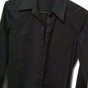 ANTONIO MELANI Tops - Antonio Melani black shirt